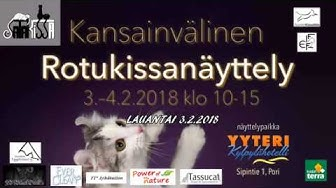 Satakissa ry:n Kansainvälinen rotukissanäyttely - 3.2.2018