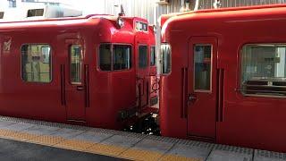 名鉄三河線 6000系 2+2両 豊田市発車