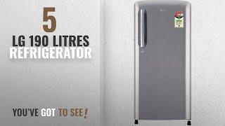 Top 10 Lg 190 Litres Refrigerator [2018]: LG 190 L 4 Star Direct-Cool Single-Door Refrigerator