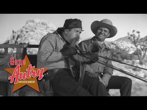 Gene Autry & Smiley Burnette - I Hang My Head and Cry (from On Top of Old Smoky 1953)