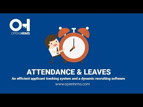 Leave & Salary Management software | Open HRMS