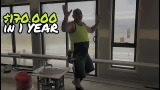 How to Earn $170 000 in a year doing Cornice & Drywall