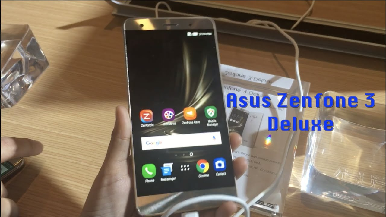 Asus Zenfone 3 Deluxe First Look
