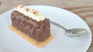 Entremets Vanille | Insert Chocolat au lait Passion | Biscuit Noisette