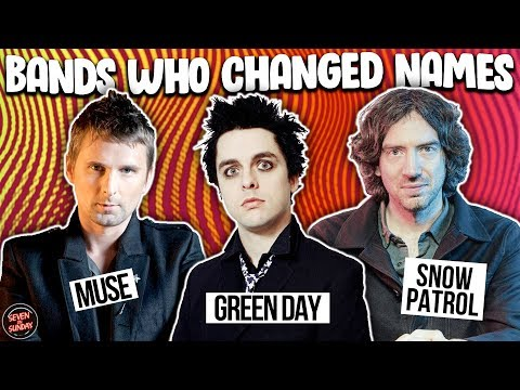 7 Bands That Changed Their Name Before Fame