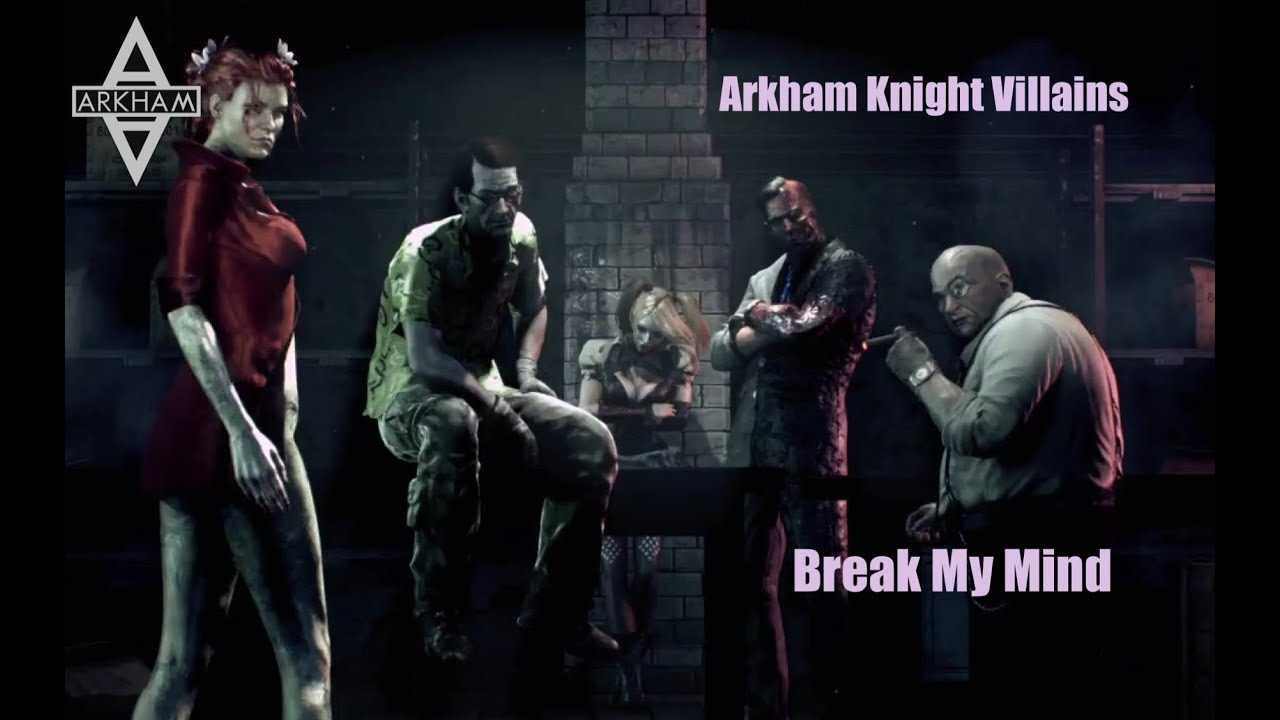 Arkham Knight Villains...