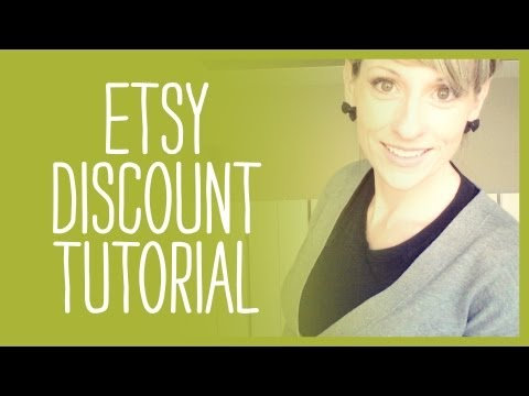 How to Add a Coupon Code to Etsy Discount Code