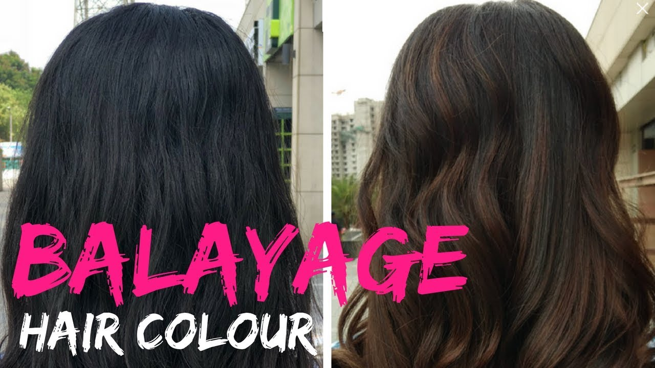 Getting My Hair Coloured For The First Time Balayage Hair Colour Experience Ft Enrich Salons