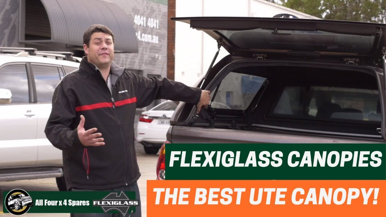Flexiglass Ute Canopies: the best canopy for your Ute