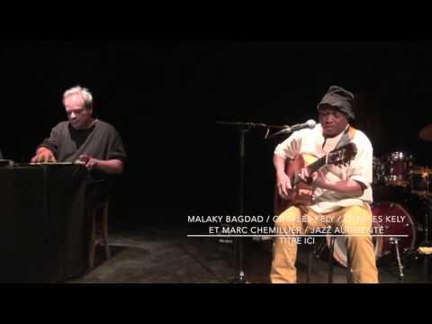 Charles Kely Malaky Bagdad avec Marc Chemillier improtek