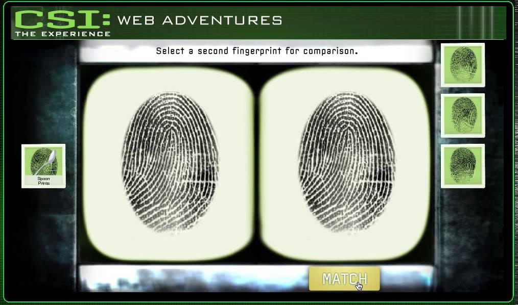 Fingerprint Analysis - CSI Case 2: Canine Caper - YouTube