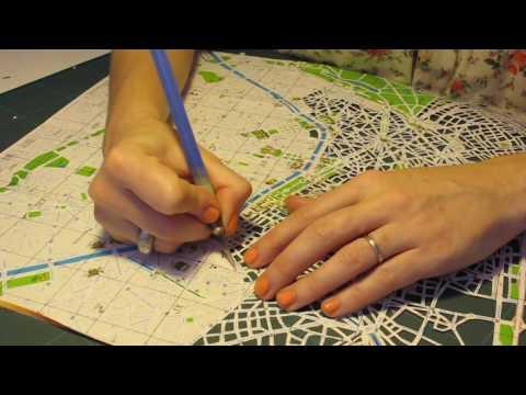 Paris papercut