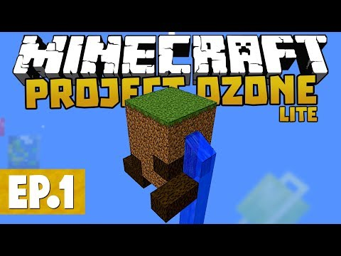 Project Ozone Lite - Infinite Food? #1 [Modded Questing Skyblock]