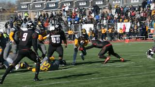 2017 Turkey Bowl Ballou 21, HD Woodson 14 6 thumbnail
