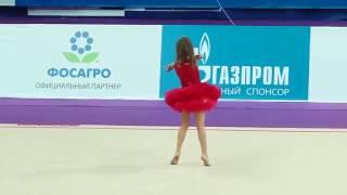 видео Ева Уварова - художественная гимнастка и танцорка