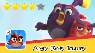 Angry Birds Journey 47 Walkthrough Fling Birds Solve Puzzles Recommend index four stars