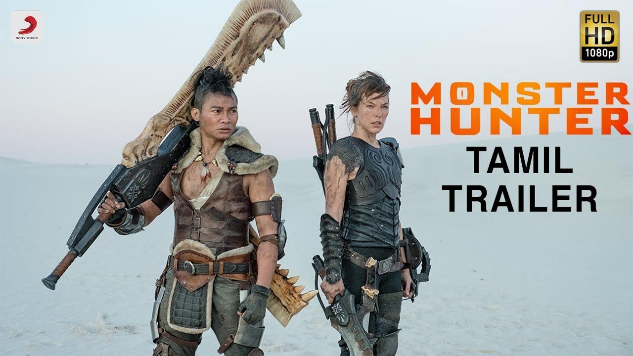 Monster Hunter - Official Tamil Trailer | Milla Jovovich | Tony Jaa | In Cinemas This December