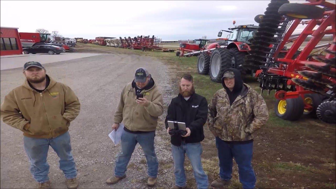 Fifth image of Farm Supply Nebraska City with SOLO UAV Around Merz Farm Equipment - Falls City, NE - YouTube