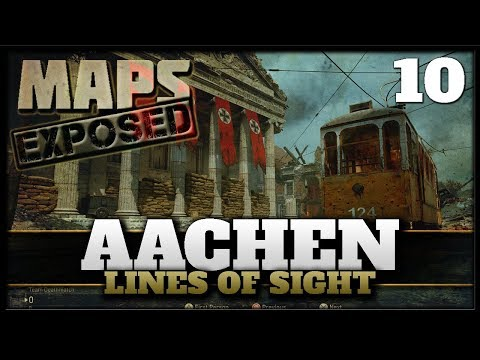 Aachen Lines of Sight & Secret Spots! | Cod WW2 Maps Exposed #9