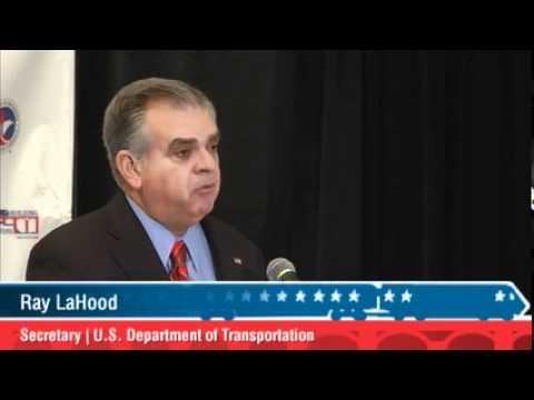 Keynote speech by US Transportation Secretary Ray LaHood