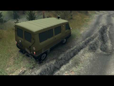 SpinTires UAZ 3972