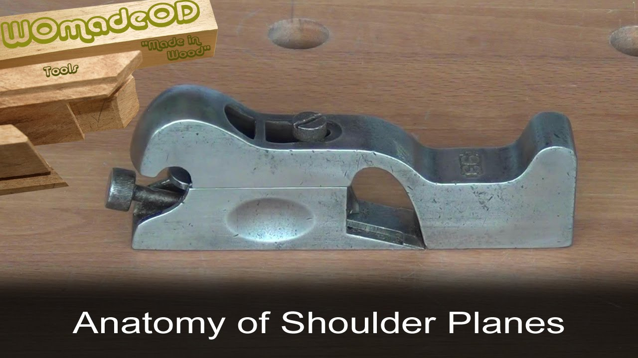 Shoulder Plane Anatomy (feat. Stanley No.93, L-N 073) - YouTube