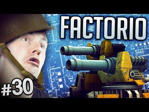 Factorio #30  - Explosives