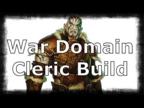 War Domain Cleric Goliath Build- Dungeons and Dragons 5e