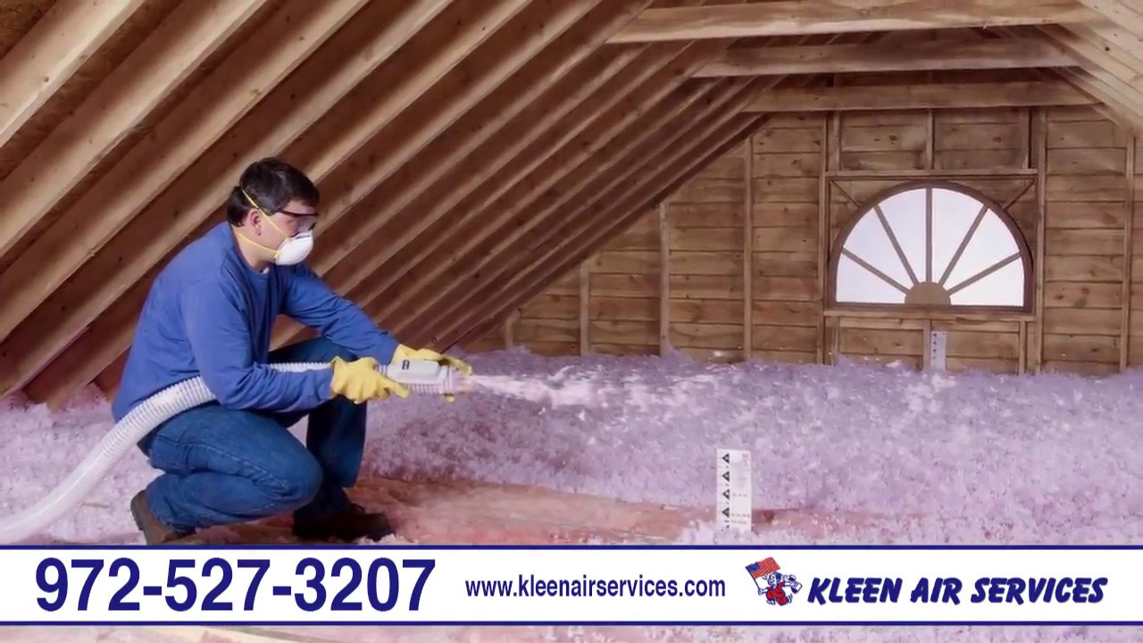 Kleen Air Services | Air Conditioning Heating Attic Insulation Duct Cleaning | Plano TX & Kleen Air Services | Air Conditioning Heating Attic Insulation ...