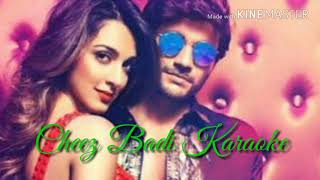 Cheez Badi Karaoke With Lyrics | Neha kakkar | Udit Narayan | Machine