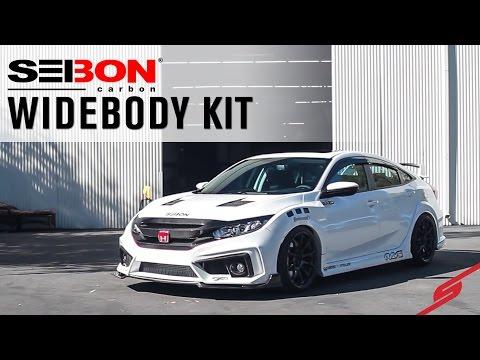 Type R Inspired 2016 Honda Civic Sedan | Seibon Carbon | STILLEN