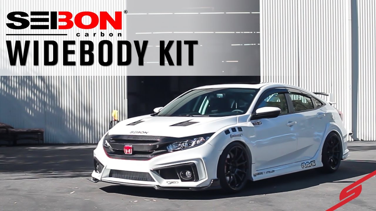 Type R Inspired 2016 Honda Civic Sedan | Seibon Carbon ...