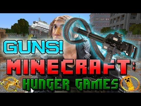 Minecraft Hunger Games W Mitch W Guns Youtube