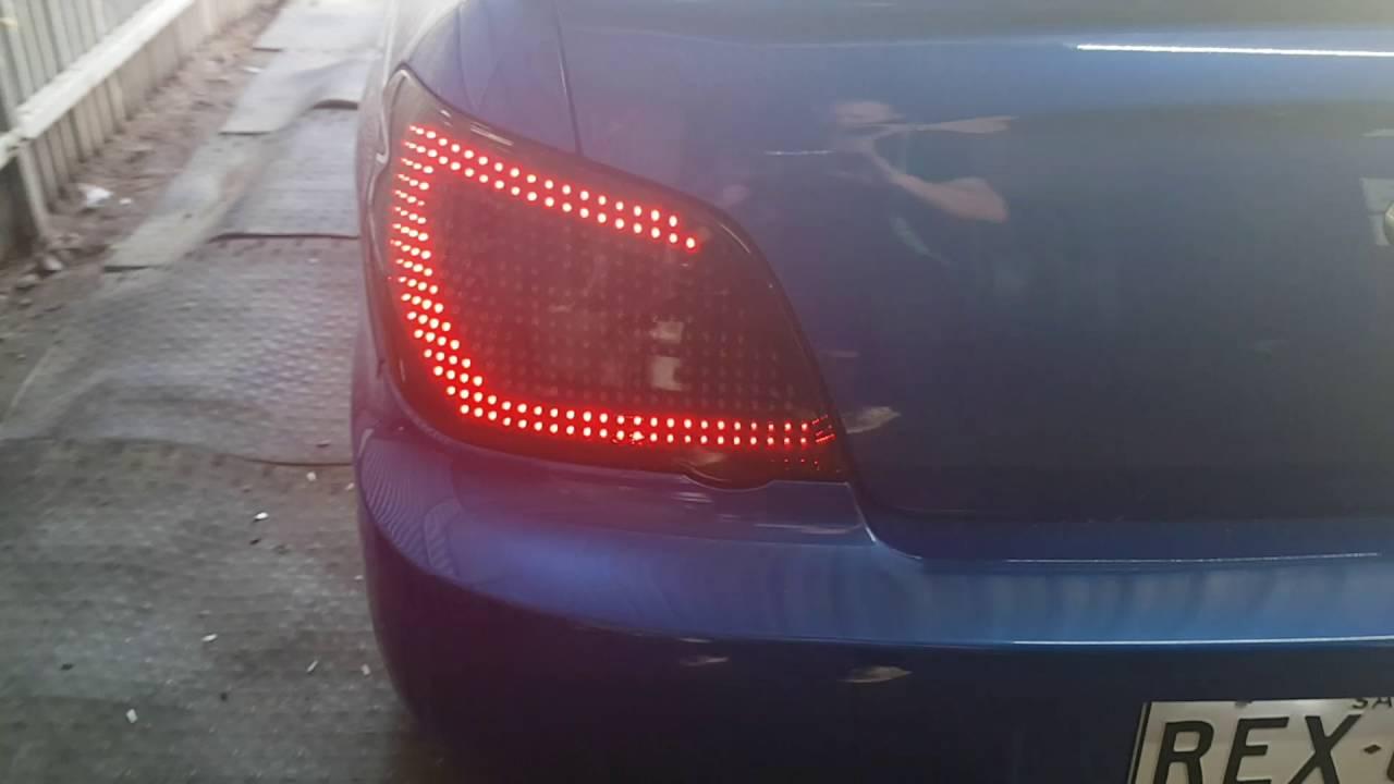 Sa Auto Installs Wrx Taillights From Car Shop Glow By Sa Auto Installs