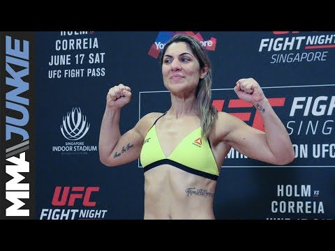 UFC Fight Night 111 weigh-in highlight