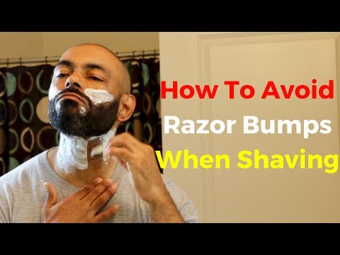 How To Avoid Razor Bumps When Shaving