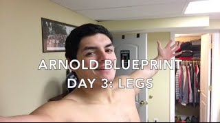Arnold blueprint more than big ep 9 cutting season arnold blueprint day 3 legs feeling like jello malvernweather Image collections
