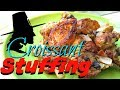 Croissant Stuffing with Mushrooms - Speedy Cooking Videos - PoorMansGourmet