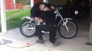 Lito ex-cam motocross bike, 2014-04-20
