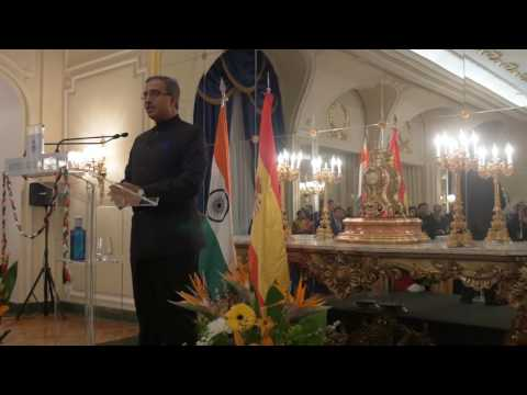 Republic Day Dinner hosted by Embassy of India in Madrid