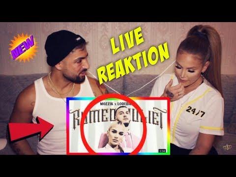 Mozzik x Loredana - ROMEOJULIET (live Reaktion) Lisha&Lou