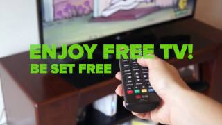 Mohu Leaf 50 Amplified Indoor HDTV Antenna Unboxing and Installation