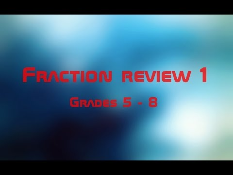 Fraction Review 1