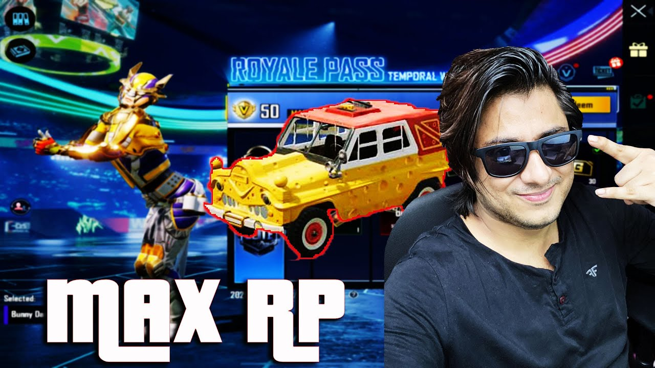 Download MAX RP Day 1 BGMI DracoGames | NEW ROYALE PASS