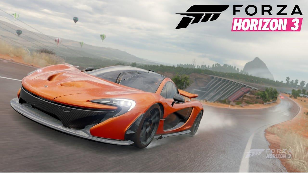 2013 McLaren P1 - Forzavista & Probefahrt [Forza Horizon 3] - YouTube