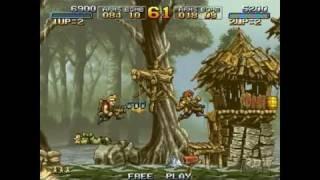 Metal Slug Anthology Nintendo Wii Gameplay - Metal Slug 2
