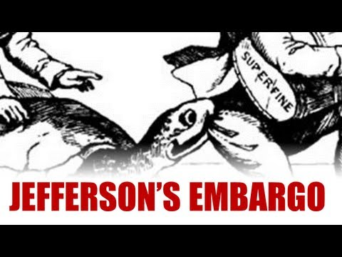 Jefferson, Neutrality, and the Embargo