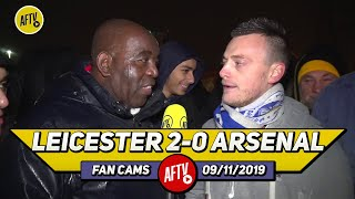 Leicester City 2-0 Arsenal | We Look Like A Champions League Side! (Lee Chappy aka Jamie Vardy)