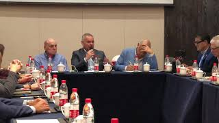 WBA Pres Gilberto Mendoza to tank a stance on pros in Olympics