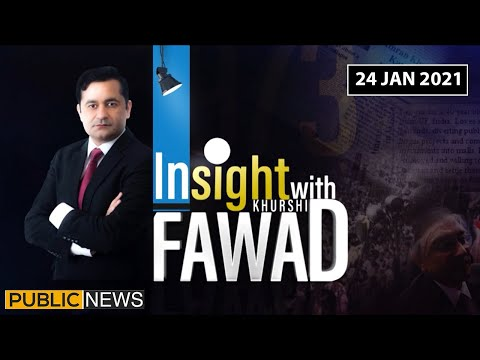 Insight with Fawad Khurshid - Sunday 24th January 2021